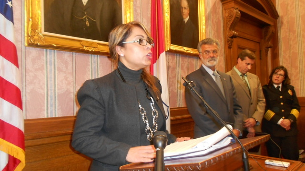 Toinette Parilla, the City of Cleveland's Director of Public Safety (pic: Brian Bull)