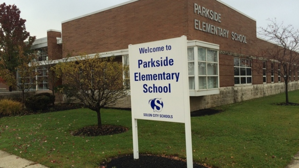 Parkside Elementary School in Solon (pic: Brian Bull)