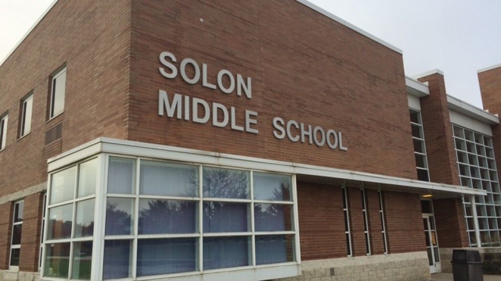 Solon Middle School (pic: Brian Bull)