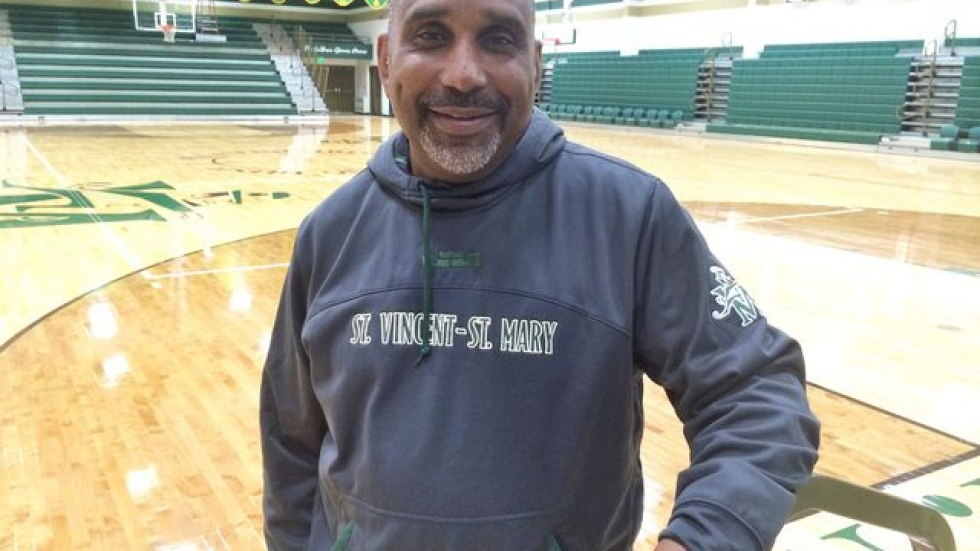 St. Vincent-St. Mary Coach Dru Joyce II and the million-dollar gym