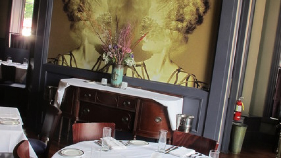 The table is set and the menu is updated for guests wanting to dine at EDWINS (pic: Brian Bull)