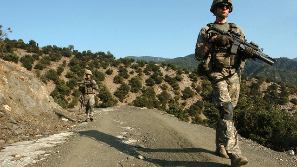 Photo of U.S. Soldiers in Afghanistan, from Flickr.com's The U.S. Army