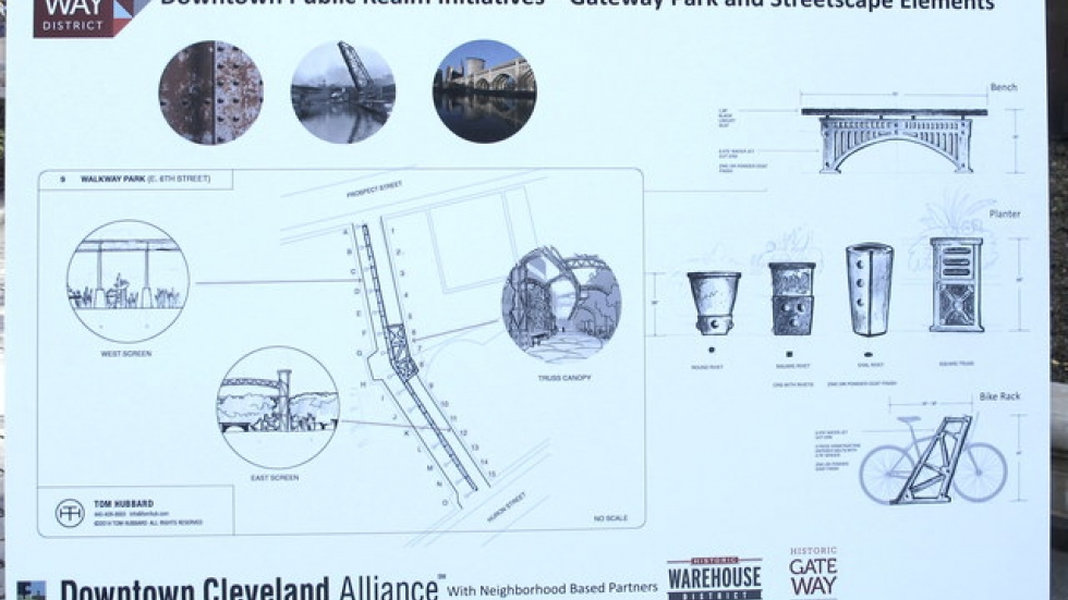Detailed rendering of Gateway District project.