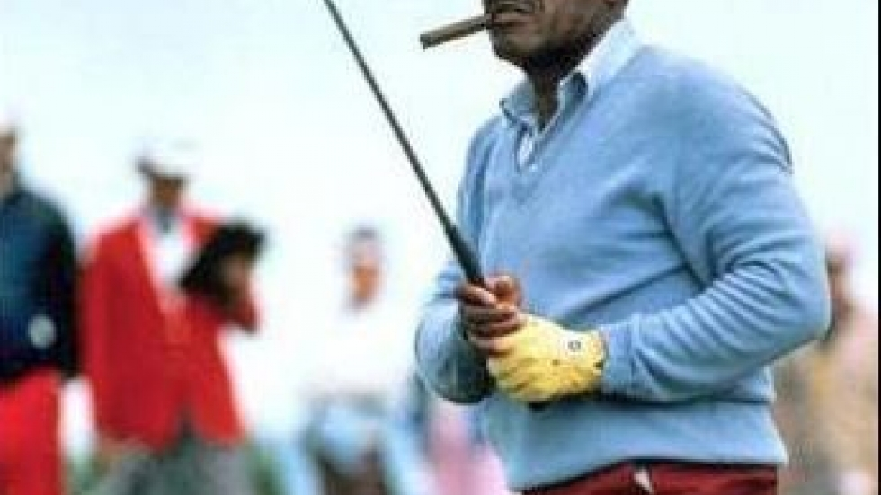 Charles Sifford on the PGA Seniors Tour in 1975 (PHOTO: PGA)