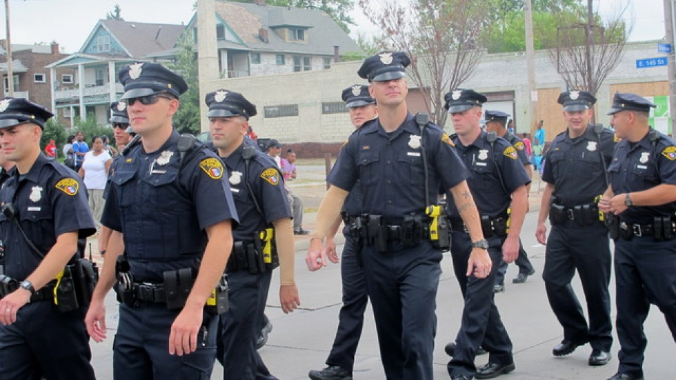 WCPN stock photo of Cleveland Police.