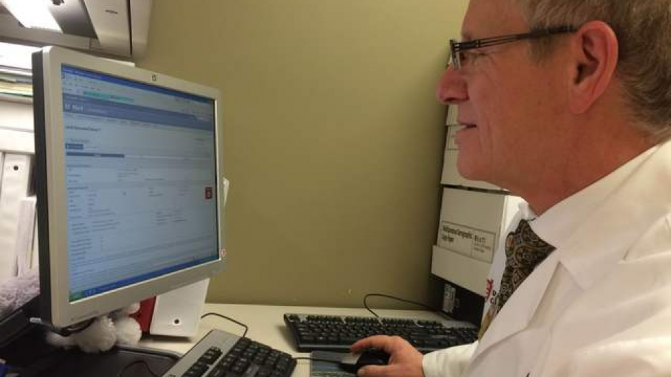 University Hospitals' Dr. Mark Aeder explains how the kidney-patient matching system for transplants works.