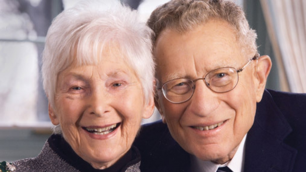 Hope and Stanley Adelstein (PHOTO: Cleveland Foundation)