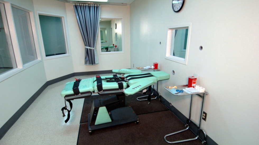 A lethal injection room in California / Wikimedia Commons