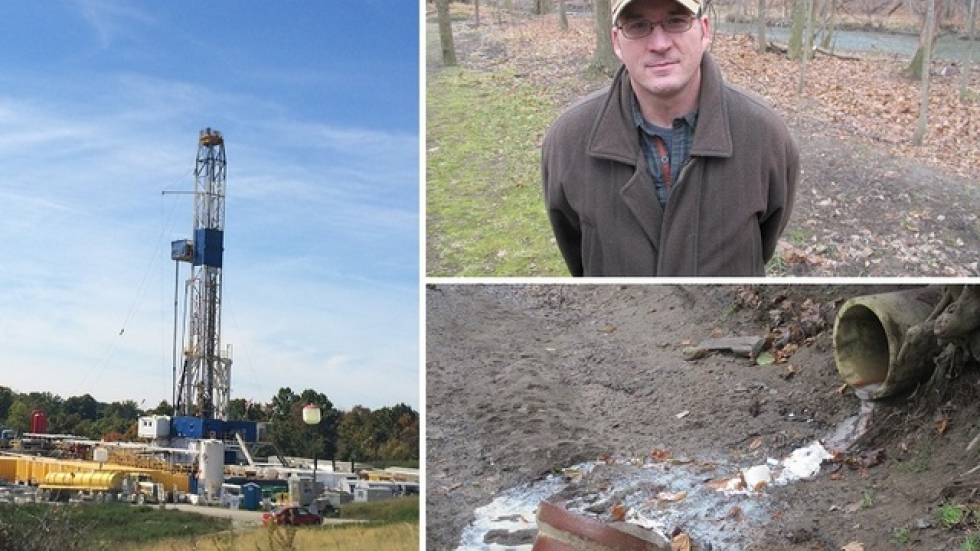 Fracking concerns some, but Mike Durkalec sees phosphorous runoff and lampreys as bigger threats (pics: Brian Bull)