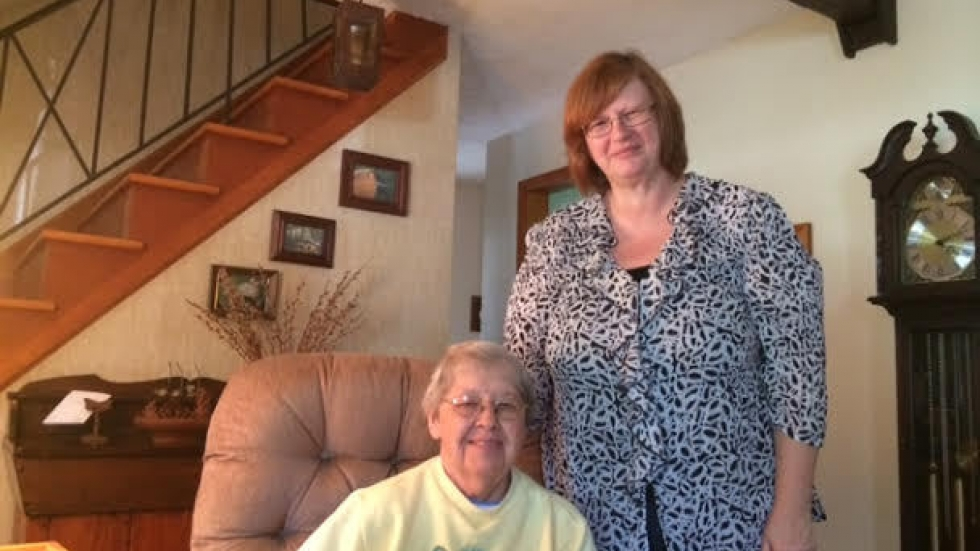 Joan Grellinger and Holly Dawson remain friends after Dawson stopped being the family's home health aide.