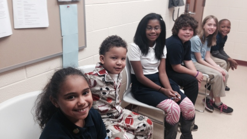 Students at Akron's Seiberling Elementary School. Photo courtesy of Amy Hansen/StateImpact Ohio.