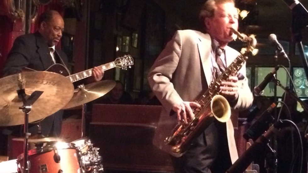 Guitarist Billy Artis and Sax Man Ernie Krivda