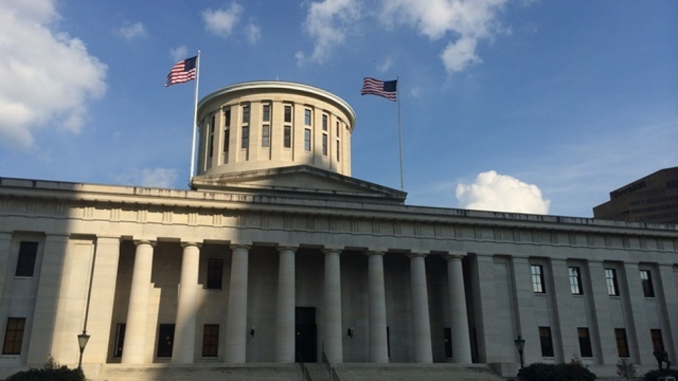 The Ohio Statehouse building in Columbus. (ideastream file photo by Brian Bull)