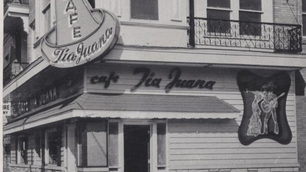 The Cafe Tia Juana opened in 1947 in Cleveland. (Drake family photo)