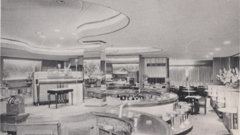 The interior of the lavish Cafe Tia Juana. (Drake family photo)