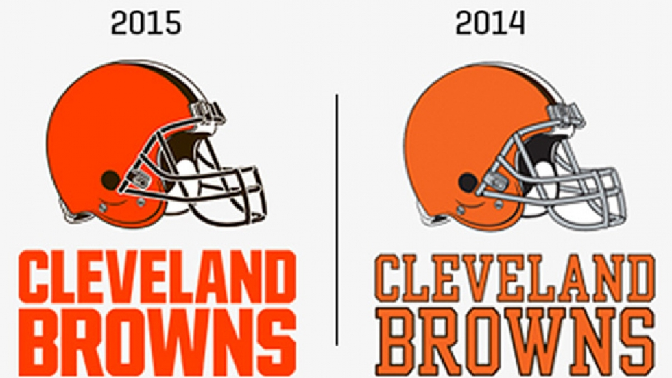 Side-by-side comparison of the old and new logos --- How many differences are there?