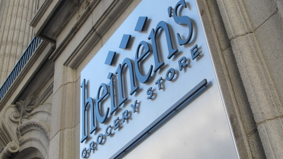 Exterior of Heinen's new store in downtown Cleveland (pic: Brian Bull)