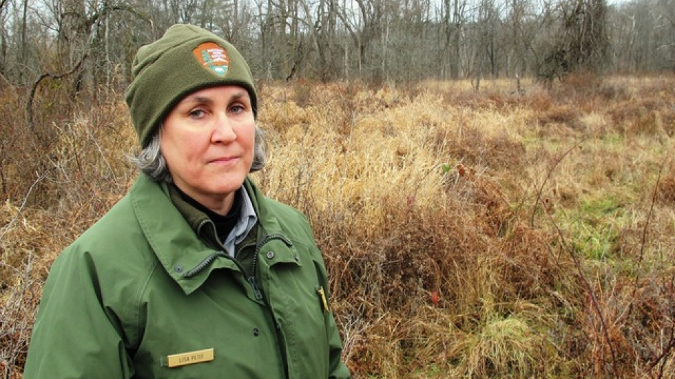 CVNP Chief of Resource Management, Lisa Petit (photo by Brian Bull)