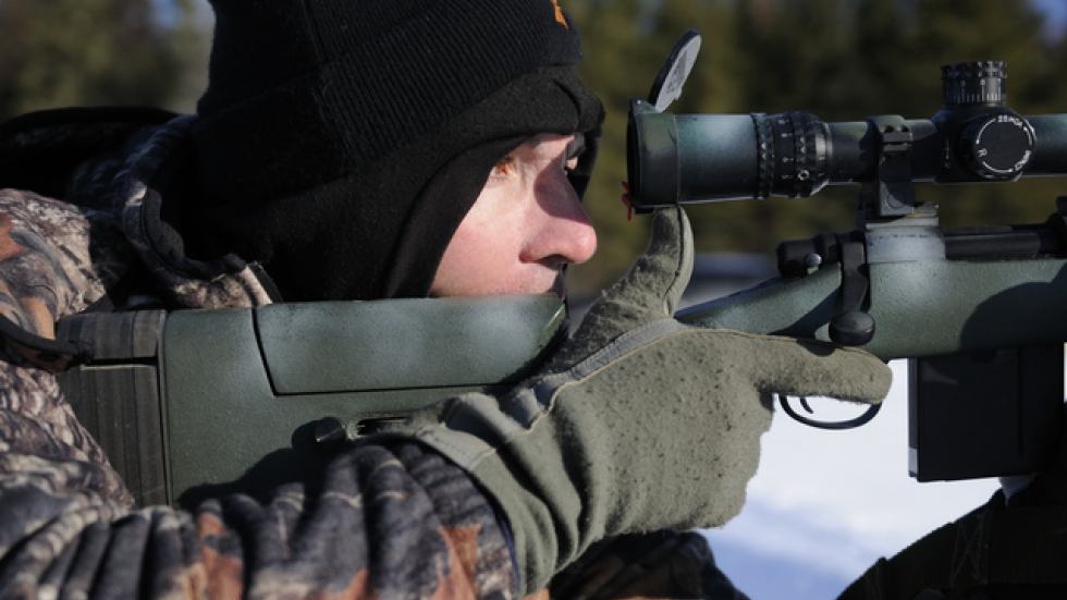 Flickr.com photo of a sharpshooter by Arctic Warrior.