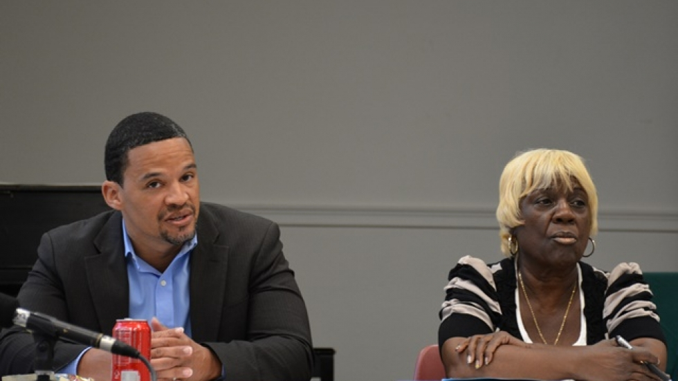 East Cleveland Mayor Gary Norton and Council President Barbara Thomas are at odds over the mayor's push for annexation talks.