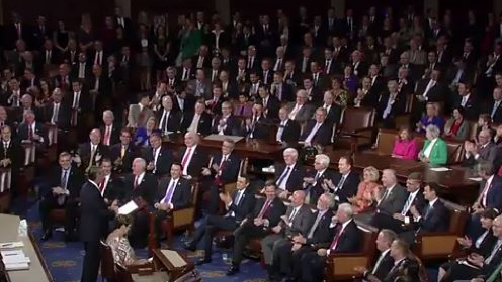 Boehner before his House colleagues (from YouTube video provided by Boehner's office)