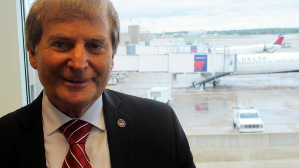 Fred Szabo, Interim Director of Cleveland Hopkins International (pic: Brian Bull)