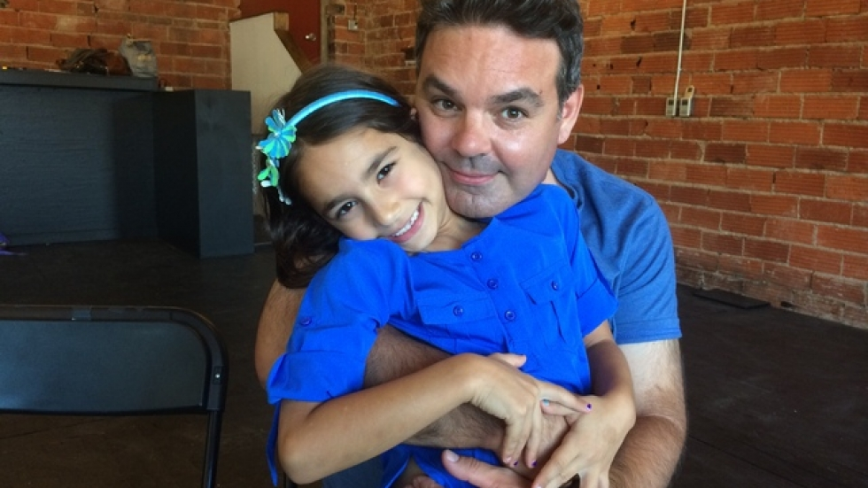 Father & daughter --- Sofia and Dante Larzabal