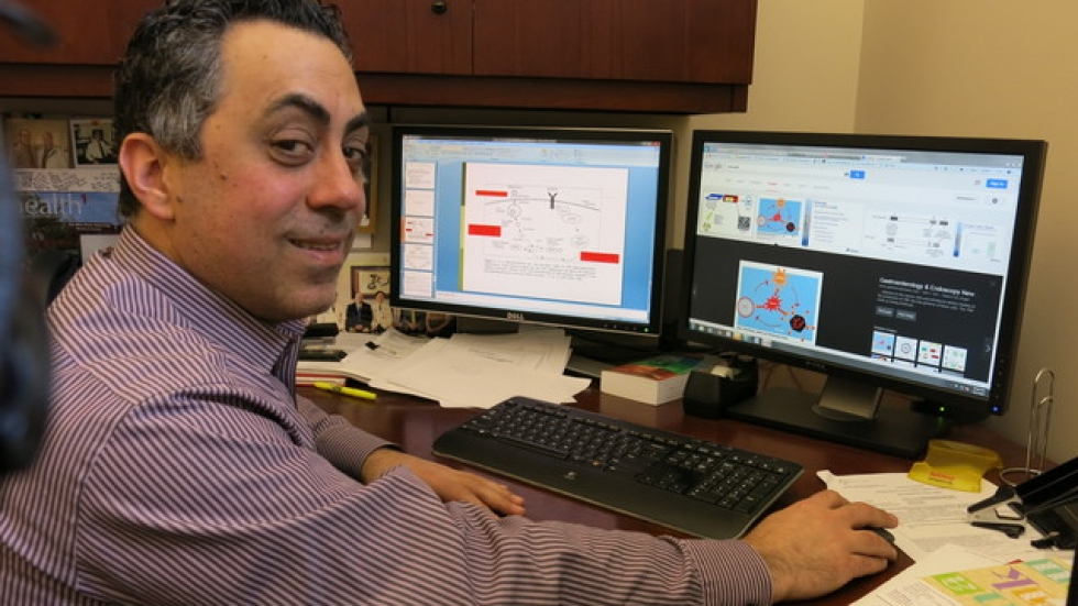 Dr. Tanios Bekaii-Saab, oncologist studying viral therapies at Ohio State Univ's Comprehensive Cancer Center James