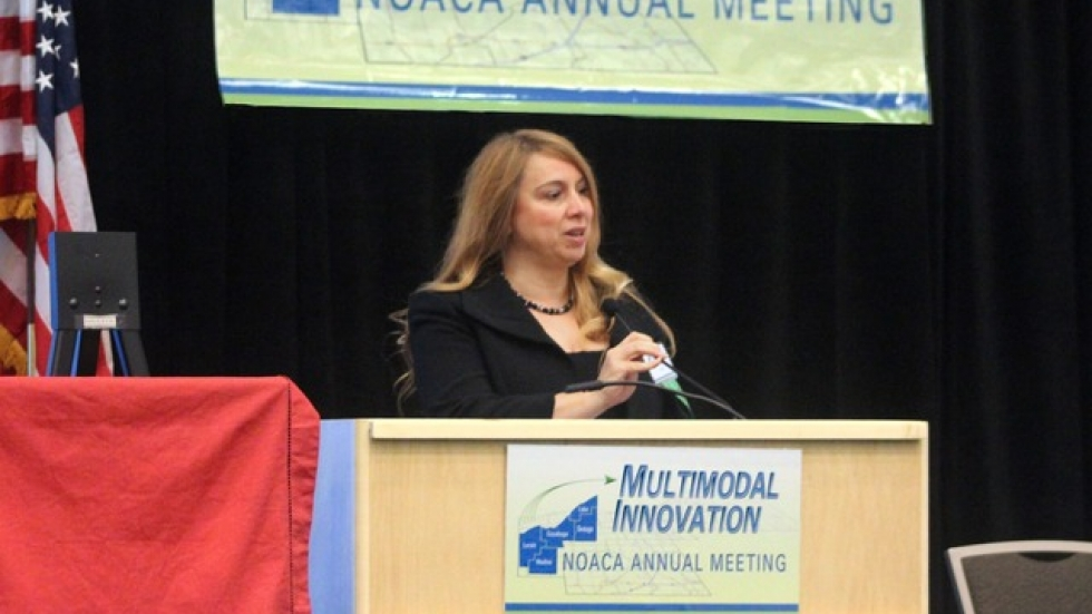 Grace Gallucci speaks at an event in 2013.