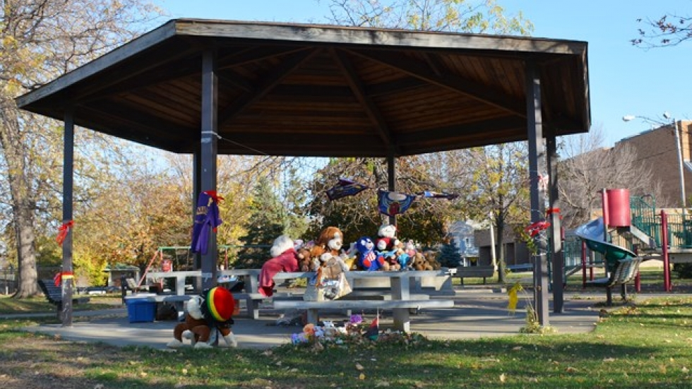 Cleveland plans to tear down the gazebo next week, the city says.