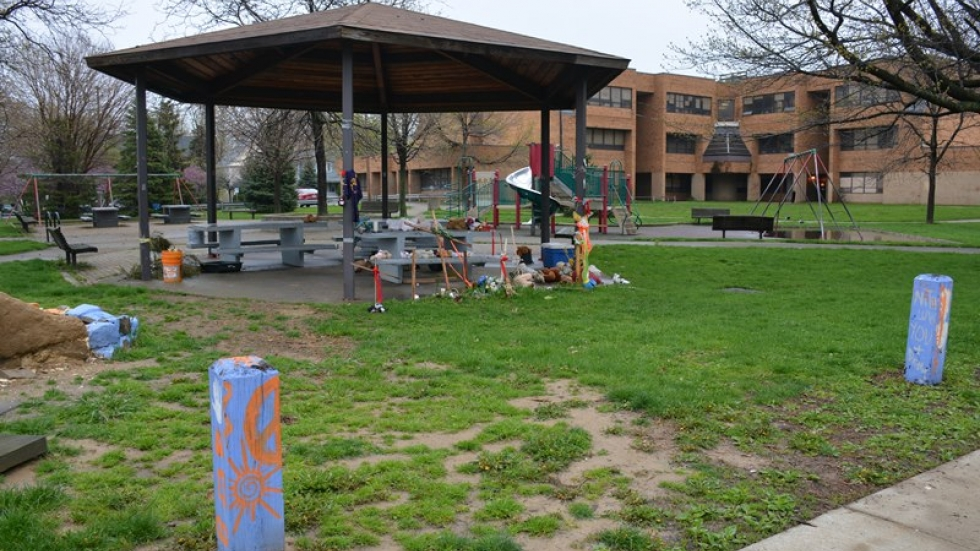 A police officer fatally 12-year-old Tamir Rice at this gazebo in 2014.