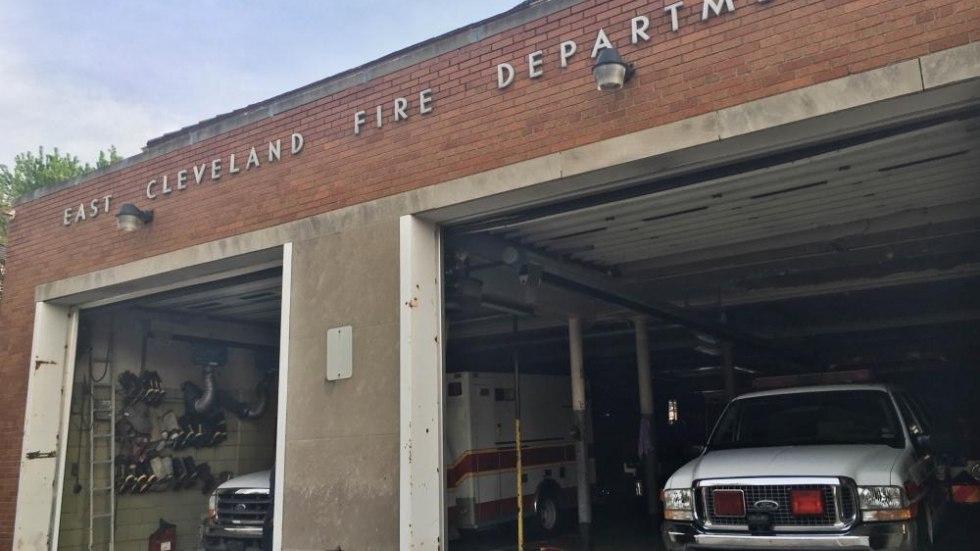 East Cleveland's fire department has faced cuts as the city slashed its budget.