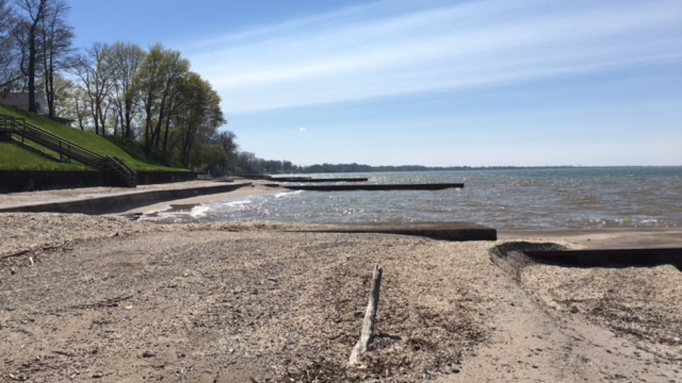 A view of Lake Erie's central basin (photo: Elizabeth MIller)