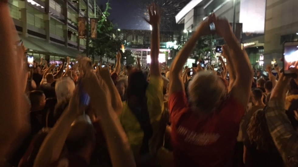 Cleveland Erupts Into Celebration As Cavaliers Capture NBA Championship