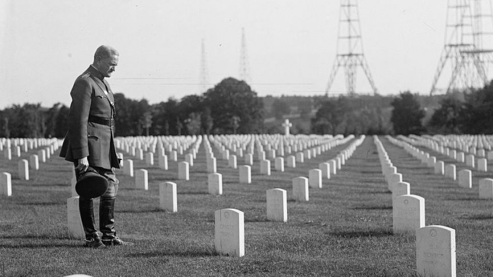 At A Hefty Cost, World War I Made The U S  A Major Military