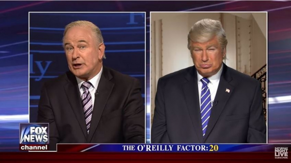 Saturday Night Live' Takes On Bill O'Reilly, Trump And That Pepsi