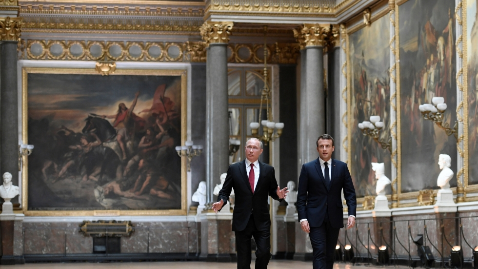 Macron Opens A Demanding Dialogue With Putin In France Npr News Ideastream