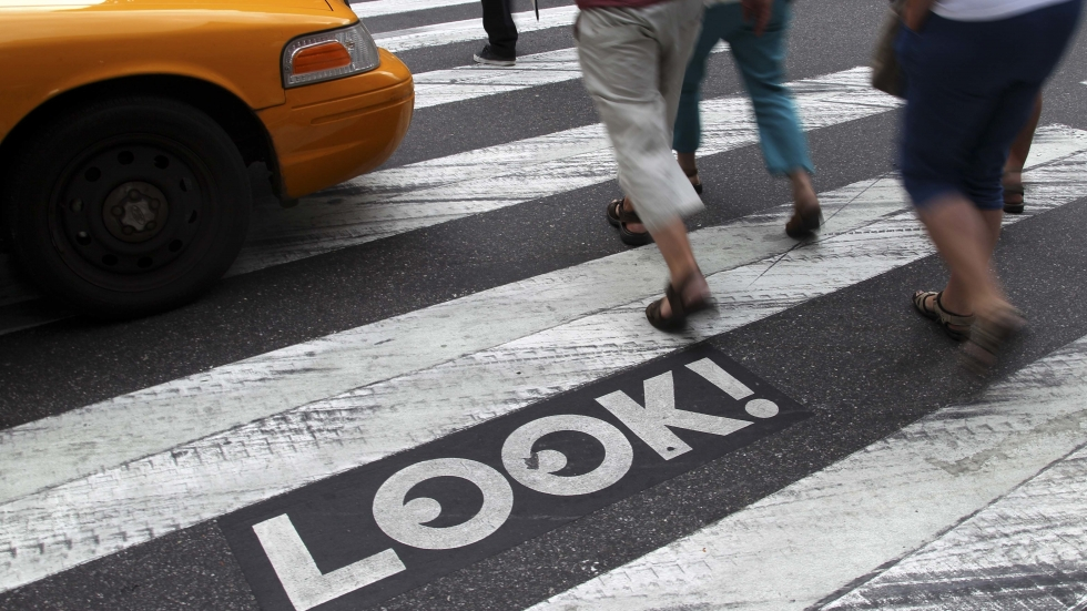 It's Now Illegal To Text While Crossing The Street In