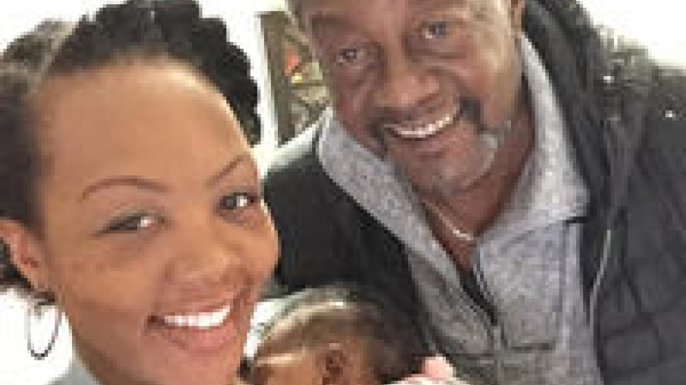 Shalon took this selfie with her father, Samuel, and Soleil on the morning of Jan. 24. Twelve hours later, she collapsed.