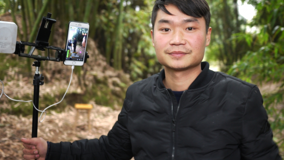 Liu Jin Ying, a 26-year-old farmer, has thousands of viewers a day watching his livestream diaries of life on the farm. He has nearly 200,000 subscribers and earns about $1,500 a month.
