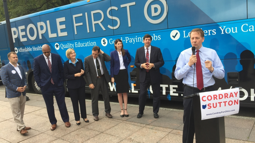 Ohio democratic candidates for statewide office kickoff bus tour