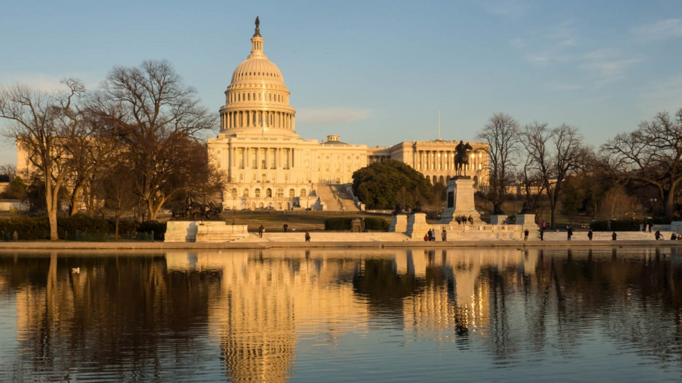 The United States Capitol in Washington, D.C. The 1968 Gun Control Act turns 50 on Oct 22, 2018.