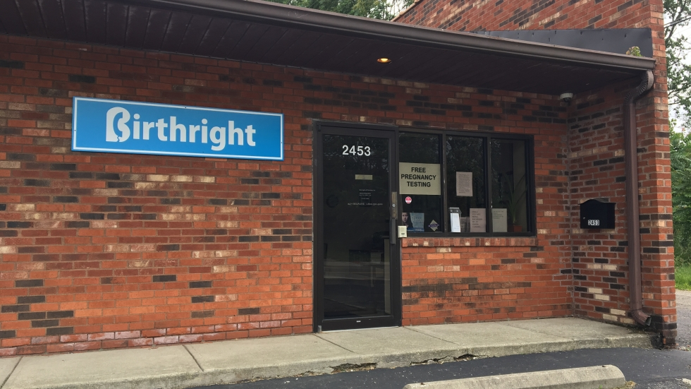 Birthright is among the pregnancy resource centers operating in Ohio.