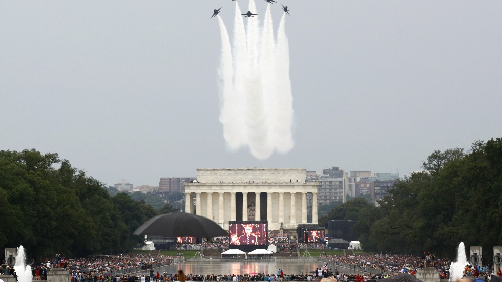 Pentagon: July 4 Flyovers, Tank Displays And Performances