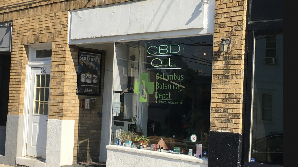 Columbus store selling CBD oils