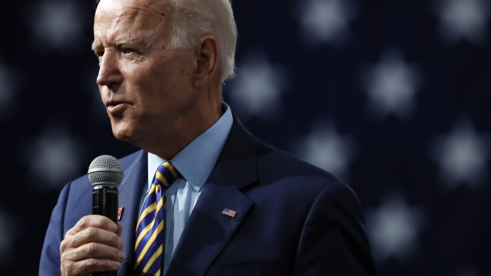 Former Vice President Joe Biden says if he's elected, he'd support a new ban on assault weapons, along with a buyback program for weapons already in private hands.