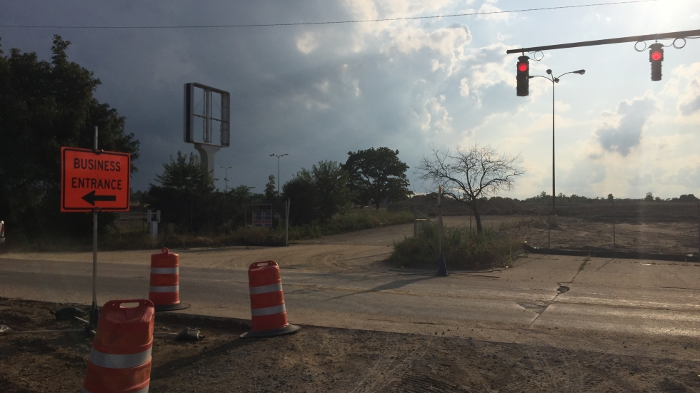 The site of Rolling Acres Mall in Akron will soon be redeveloped as an Amazon fulfillment center.