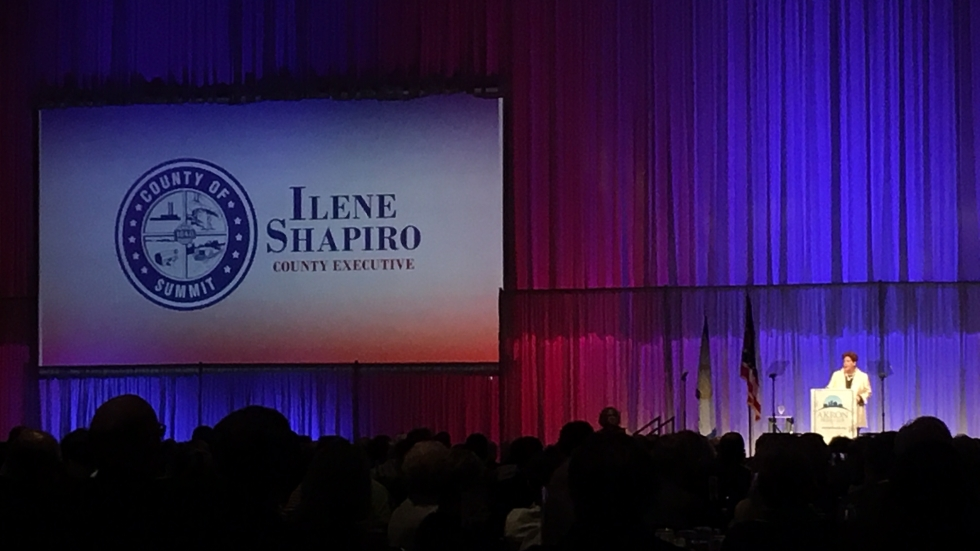 County Executive Ilene Shapiro delivers 2019 State of the County report to more than 900 people at the John S. Knight Center.
