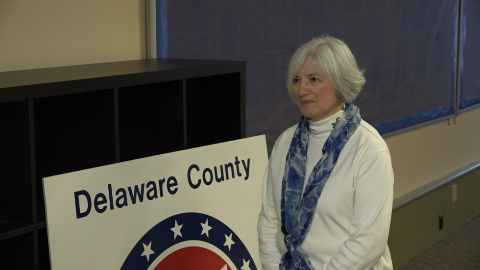 Delaware County Democratic Party Chair Peg Watkins