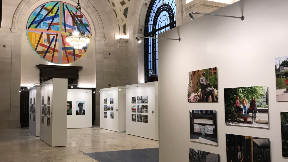 As part of its 150th anniversary, the Cleveland Public Library commissioned 25 photographers to capture images of city life. The exhibit opens Monday at 4:30 p.m. in Brett Hall, at the main library downtown.